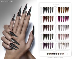 Black Fair | April 20th (Kah Melody | ASCENDANT) Tags: black fair ascendant nails maitreya belleza slink bento