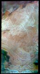 North polar layers in false color (THEMIS_IOTD_20190418) (ASUMarsSpaceFlight) Tags: northpolarregion northpolaricecap falsecolor themis thermalemissionimagingsystem asu arizonastateuniversity msff marsspaceflightfacility nasa marsodyssey philipchristensen schoolofearthandspaceexploration sese mars marswatch