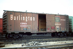 CB&Q Class XM-32F 63060 (Chuck Zeiler 54) Tags: cbq class xm32f 63060 burlington railroad boxcar box car freight cicero train chuckzeiler chz