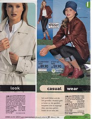 Journey into the past (betrenchcoated) Tags: coat trenchcoat raincoat 90s vintage scans