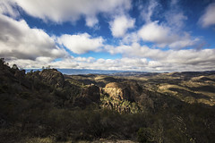 Pinnacles National Park (CraDorPhoto) Tags: canon5dsr landscape sky clouds blue mountains valley nature ouside outdoors usa california