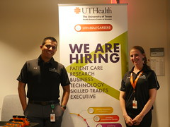 P1060072 (UTHealth SBMI) Tags: school biomedical informatics sbmi uthealth career day