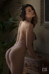 Olga (Chris Bos Photography) Tags: beauty bum sensual mood sexy body light expression brunette fashion natural beautiful