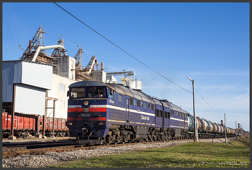 Skinest Rail 2тэ116 northbound