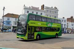 1668 HW67AKJ (PD3.) Tags: adl enviro 400 mmc 1668 hw67akj hw67 akj isle wight iow bus buses hampshire hants england uk ryde newport southern vectis
