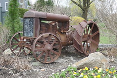 Very Old Tractor (en tee gee) Tags: tractor old iron fordson