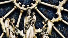 Trésors de Notre dame (Miradortigre) Tags: france francia paris notre dame vierge virgen piedra stone petre notredame cathedral gothic gotica cathédrale gothique architecture arquitectura symbol symbole