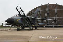 TORNADO-GR4-ZG752-8-3-19-RAF-MARHAM-(4) (Benn P George Photography) Tags: rafmarham 8319 bennpgeorgephotography tornadofinale mightyfin royalairforce tornado gr4 zg752 camojet retro camo 9sqn 31sqn panavia nikon nikond7100 nikon18105vr