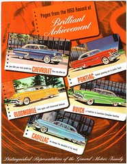 1953 General Motors Family (Canada) (aldenjewell) Tags: 1953 gm vehicles ad canada chevrolet pontiac oldsmobile buick cadillac