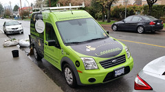 2012 Azure Dynamics Ford Transit Connect XLT (D70) Tags: 2012 azure dynamics ford transit connect xlt gardener our gardeners electric van allows gardening tools batteries recharge via solar panels roof burnaby britishcolumbia canada