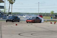 DSC_1321 (Find The Apex) Tags: nolamotorsportspark nodrft drifting drift cars automotive automotivephotography nikon d800 nikond800 tandemdrift tandem tandemdrifting tandembattle nissan 240sx nissan240sx s13