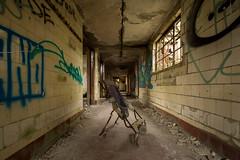 Abandoned Hospital (Alec-Gibson) Tags: abandoned atrisk asylum derelict disused decay dangerousbuilding d7100 nikon urbex urbanexploration explore exploring pram scotland graffiti