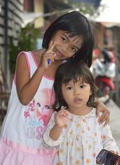 cute children (the foreign photographer - ฝรั่งถ่) Tags: two cute girls khlong lard phrao portraits bangkhen bangkok thailand nikon d3200