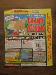 Ollie's Opening (Random Retail) Tags: ollies flyer advertizement grandopening 2019 store retail