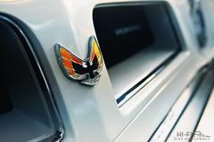 Fired Up (Hi-Fi Fotos) Tags: pontiac firebird vintage classiccar grille badge hood emblem american detail nikon d7200 dx hififotos hallewell auto bokeh