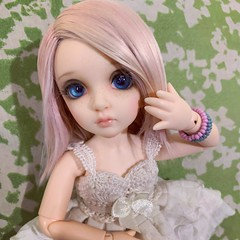 Laika's New Hair (Opal Doll BJD) Tags: nanuri13 littlefee fairyland doll bjd