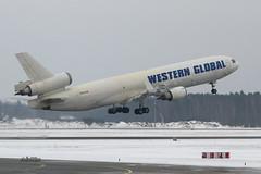 IMG_0817@L6 (Logan-26) Tags: mcdonnell douglas md11f n545jn msn 48545 western global airlines riga international rix evra latvia airport aleksandrs čubikins