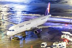 AIR MACAU A321-232(WL) B-MCG 002 (A.S. Kevin N.V.M.M. Chung) Tags: aviation aircraft aeroplane airport airlines airbus plane apron macauinternationalairport mfm spotting beacon raining a321 a321ceo