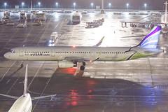 AIR BUSAN A321-231(WL) HL7211 002 (A.S. Kevin N.V.M.M. Chung) Tags: aviation aircraft aeroplane airport airlines airbus plane apron macauinternationalairport mfm spotting beacon raining a321 a321ceo
