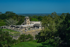 2019 Palenque (jeho75) Tags: sony ilce 7m2 zeiss mexico mesoamerica maya palenque ancient site tower rain forest landscape travel