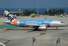 Jetstar Asia Airbus A320-232 9V-JSH 99.co livery (EK056) Tags: jetstar asia airbus a320232 9vjsh 99co livery phuket international airport