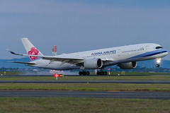 China Airlines Airbus A350 (Daniel Talbot) Tags: a359 akl airbus airbusa350900 auckland aucklandairport aucklandregion b18912 ci chinaairlines dynasty nzaa newzealand northisland teikaamāui aircraft airplane airplanes airport autumn aviation evening maker oceania plane season seasons transportation