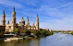 Basilica Nuestra Seńora del Pilar. Zaragoza, Spain (mtm2935) Tags: cultural iconic heritage landmark magnificent large spain zaragoza catholic baroque cathedral church basílica