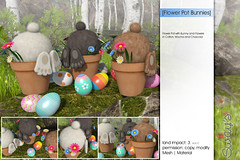 Sway's [Flower Pot Bunny] FLF (Sway Dench / Sway's) Tags: easter bunny egg cute spring vr sl sways