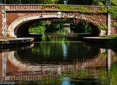 Sur Canal Du Midi-3 (ozipital) Tags: canaldumidi europe france toulouse canal