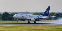 tarom skyteam YR-BGF (K.D_aviation) Tags: tarom skyteam aviation airport airbus boeing belgium brussels brussel livery zaventem vliegtuig
