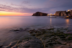 La Isleta del Moro I (Toni de Ros) Tags: cabodegata laisletadelmoro sunrise largaexposición amanecer paisaje mar mediterraneo