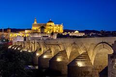 Córdoba, Puente Romano y la Mezquita-Catedral (liakada-web) Tags: andalusia andalusien cordoba d7500 nikon nikond7500 spain spanien blauestunde bluehour mezquita mezquitacatedral puenteromano romanbridge andalucia andalucía córdoba españa römischebrücke