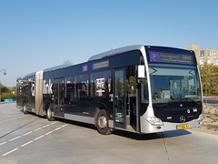 NLD Qbuzz 3420 - 6 (Roderik-D) Tags: 77bdl4 3420 qbuzz34203447 articulatedbus 6 evobus wensink qlink delfzijlstation 3axle 3doors 455676 euro6