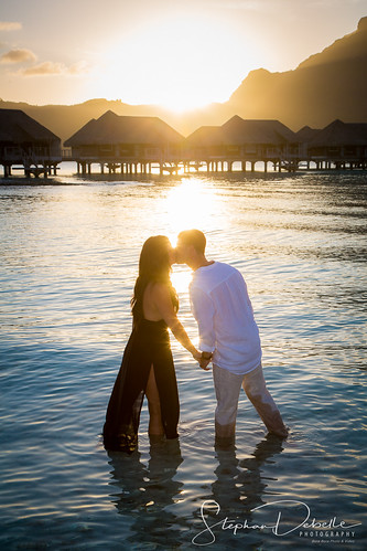 Janelle & Nicholas - The Intercontinental Thalasso - Bora Bora