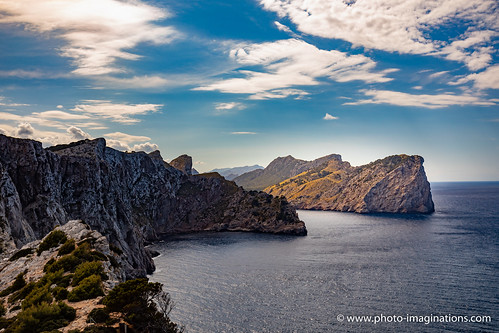 Selective light at Cap Formentor