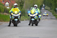 BMW motorbikes of Suffolk Police in Sproughton (Ian Press Photography) Tags: boat boats suffolk escort large outsize load t200aby daf xf abbey transport hauling bmw bikes bike motorbike biker motorbikes police 999 emergency service services officer officers bikers sproughton