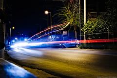 Kamatero - Filis 10th bus stop / Καματερό - 10η Φυλής (kostavita) Tags: urban urbanphotography street surreal surrealism color colour lights lighttrails kamatero greece car δρόμοσ σουρεαλισμόσ υπερρεαλισμόσ φώτα καματερό ελλάδα αυτοκίνητο
