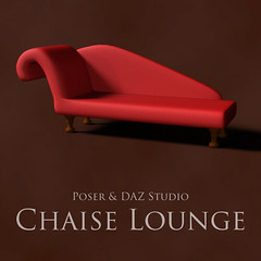Chaise Lounge (Adam Thwaites) Tags: chaiselounge dazstudio daz3d free furniture model poser prop scene