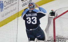 Adjusting The Helmet (mistabeas2012) Tags: ahl hockey