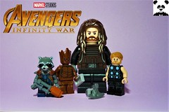 Stormbreaker [Infinity War - #08] (HaphazardPanda) Tags: lego figs fig figures figure minifigs minifig minifigures minifigure purist purists character characters comics comic book books story group super hero heroes superhero superheroes marvel mcu avengers infinity war endgame captain america iron man spiderman machine falcon vision scarlet witch white wolf winter soldier okeye black panther shuri nomad widow thor bruce banner hulk groot guardians galaxy rocket raccoon gamora nebula doctor strange starlord quill drax mantis wong gauntlet stones thanos stormbreaker