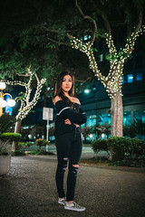 Vanessa-33 (Supreme_asian) Tags: portrait san jose downtown girlmodel model girl light bokeh lights low film canon t5i sigma 1835mm sjsu vans