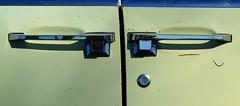 suicidal (David Sebben) Tags: suicide doors handles lincoln continental abandoned car automobile