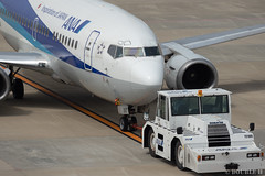 Fukuoka Airport 2019.4.13 (13) (double-h) Tags: omd em1markii omdem1markii lumixgxvariopz45175mmf4056asphpowerois rjff fuk fukuokaairport 福岡空港 airplane 飛行機 observationdeck 展望デッキ