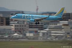 Fukuoka Airport 2019.4.13 (29) (double-h) Tags: omd em1markii omdem1markii lumixgxvariopz45175mmf4056asphpowerois rjff fuk fukuokaairport 福岡空港 airplane 飛行機 observationdeck 展望デッキ