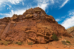 Capitol Reef (ValeTer_) Tags: rock mountainous landforms formation sky geology outcrop natural landscape environment wilderness geological phenomenon nature capitol reef utah nps nationalpark nikon d7500