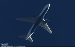 Boeing 767-332(ER) / Delta Air Lines / N172DN (SpotterBr) Tags: rnav nikon p900 cruzeiro plane spotting contrail delta 767 boeing