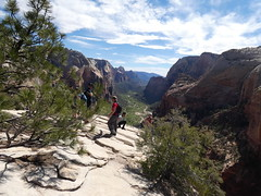 P1000547 (odetojoy24) Tags: zion utah angels landing hiking