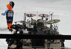 Roscoe Near Drum Set (mistabeas2012) Tags: