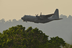 Lima19 - 34 (coopertje) Tags: malaysia pulau langkawi lima airshow aircraft propelor prop turboprop transport malaysian air force lockheed c130 hercules
