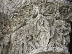 Eglise Saint-Léger (XIIe-XVIe), Cognac (16) (Yvette G.) Tags: chapiteau cognac 16 charente poitoucharentes nouvelleaquitaine artroman architecture église sculpture